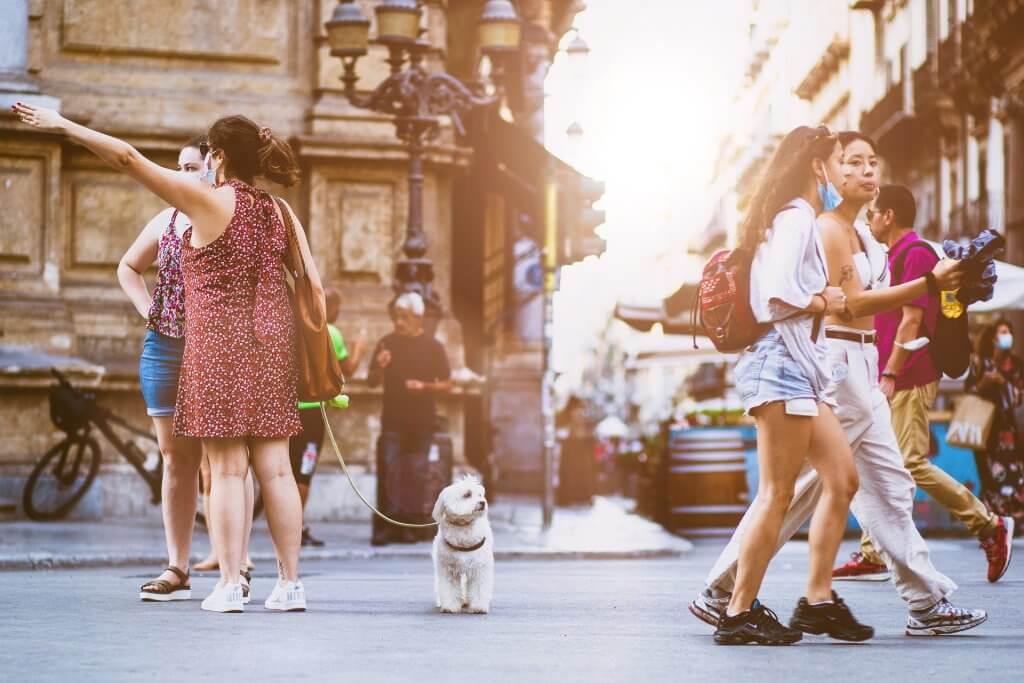 passeggiare col cane